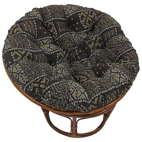 Blazing Needles 44-inch Tapestry Papasan Cushion