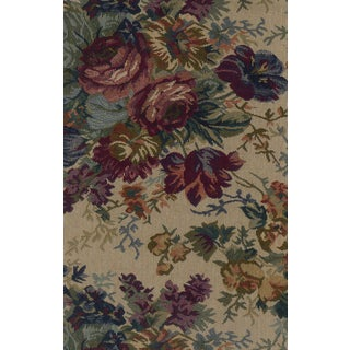 Blazing Needles 44-inch Floral Tapestry Papasan Cushion