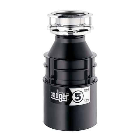 InSinkErator Badger 5 Garbage Disposal, 1/2 HP (BADGER5)