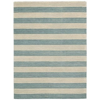 Barclay Butera Ripple Seascape Area Rug by Nourison (5'6 x 7'5)