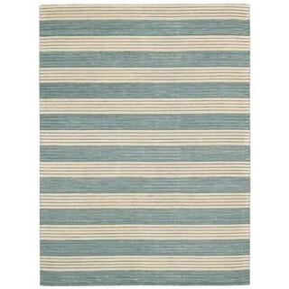 Barclay Butera Ripple Seascape Area Rug by Nourison (7'9 x 10'10)