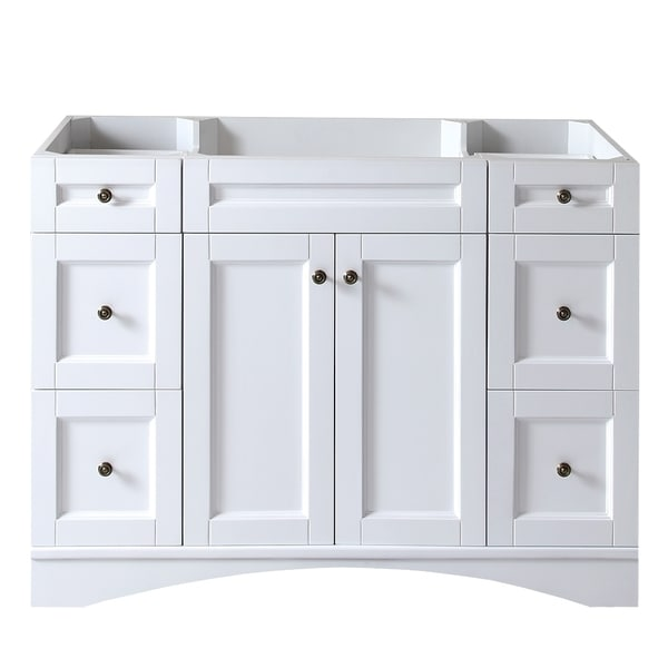 white 48 inch bathroom vanity virtu usa elise 48 inch white single sink cabinet only 24592