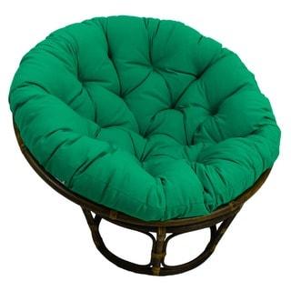 Blazing Needles 48-inch Solid Twill Papasan Cushion (Fits 46-inch Papasan Frame)