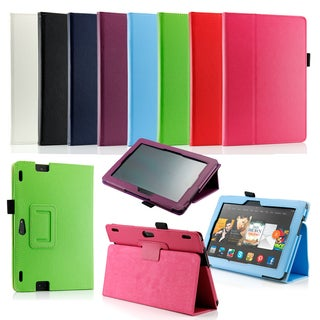 "Gearonic PU Leather Folio Smart Cover for 2013 Kindle Fire HDX 8.9"" (2 options available)"