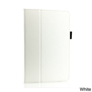 """Gearonic PU Leather Folio Smart Cover for 2013 Kindle Fire HDX 8.9"""" (Option: White)"""