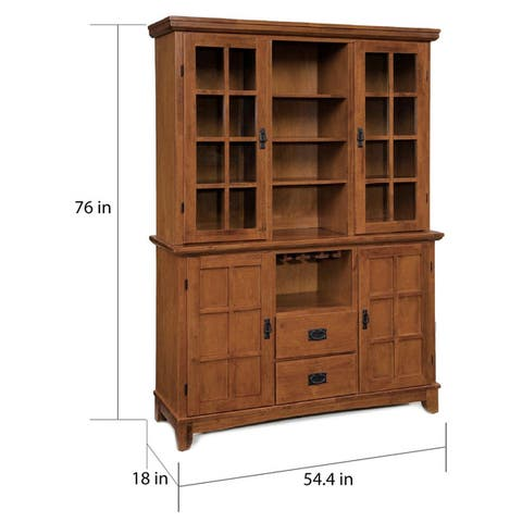 Carbon Loft Rose Buffet and Hutch