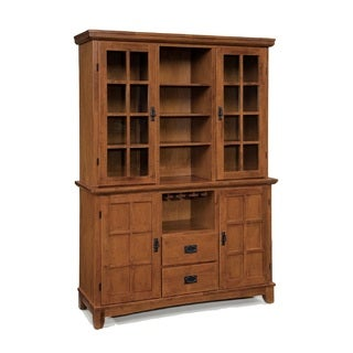 Arts And Crafts Buffet And Hutch By Home Styles