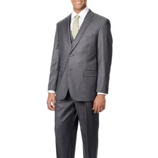 Caravelli Italy Men's 'Superior 150' Grey 3-piece Vested Suit (More options available)