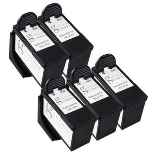 Sophia Global Lexmark 4 Remanufactured Black Ink Cartridge Replacements (Pack of 5)