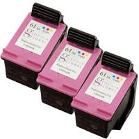 Sophia Global HP 61XL Remanufactured Color Ink Cartridge Replacements (Pack of 3)