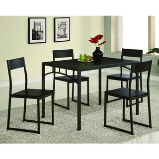 Coaster Company Dark Cappuccino Modern 5-piece Dining Set