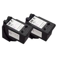 Sophia Global PG-240XL Remanufactured Black Ink Level Display Cartridge Replacement (Pack of 2)
