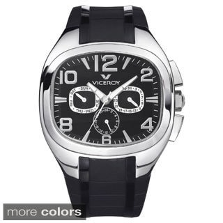 Viceroy Men's Multifunction Rectangle Watch