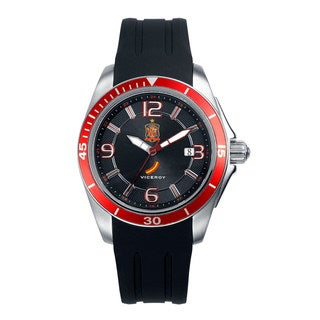Viceroy Men's Black/ Red Sport Watch