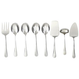 Cambridge 'Opulence' Stainless Steel 8-piece Hostess Set