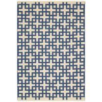 Barclay Butera Maze Indigo Area Rug by Nourison (2'3 x 3'9)