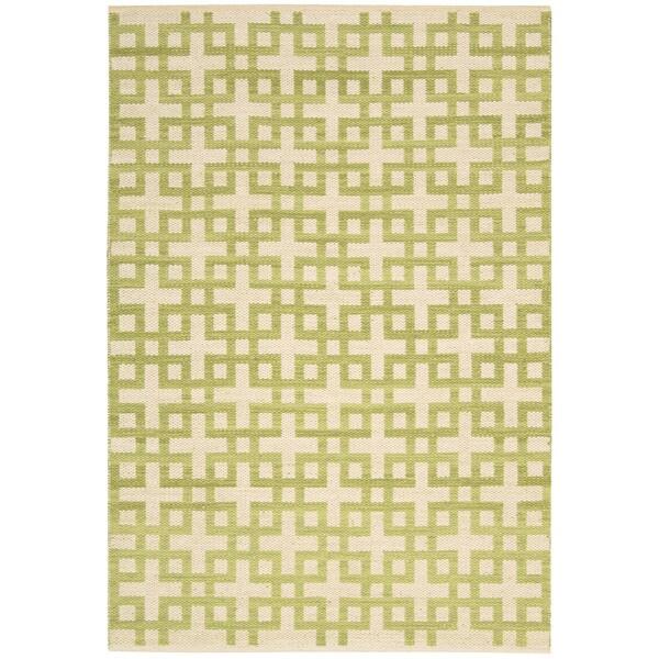 Barclay Butera Maze Moss Area Rug by Nourison (2'3 x 3'9)