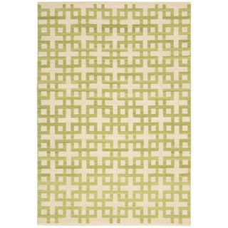 Barclay Butera Maze Moss Area Rug by Nourison (2'3 x 3'9)