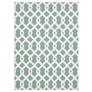 Waverly Sun N' Shade Ellis Poolside Indoor/ Outdoor Rug by Nourison (7'9 x 10'10)