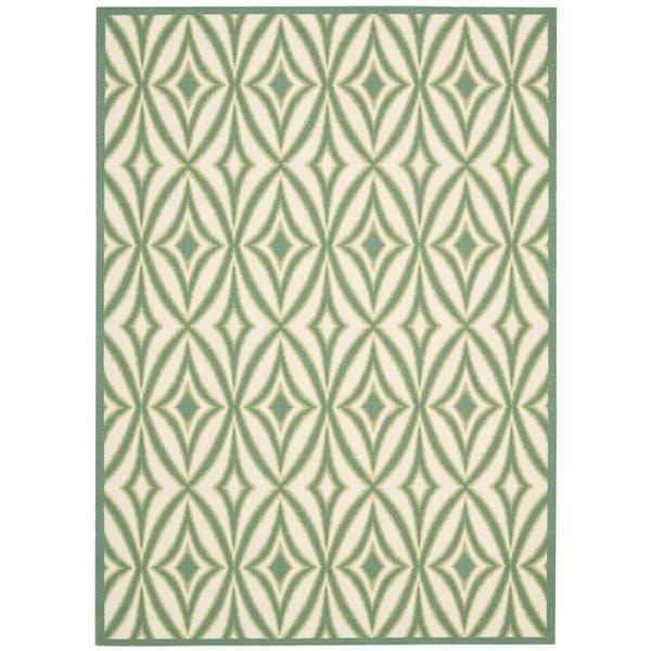 Waverly Sun N' Shade Centro Carnival Indoor/ Outdoor Rug by Nourison - 7'9 x 10'10