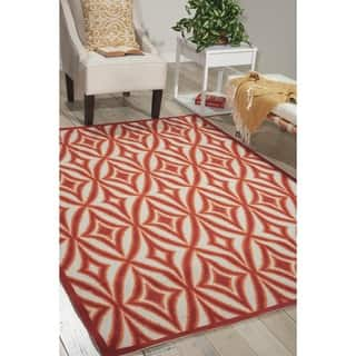 Waverly Sun N' Shade SND19 Geometric Indoor/Outdoor Area Rug