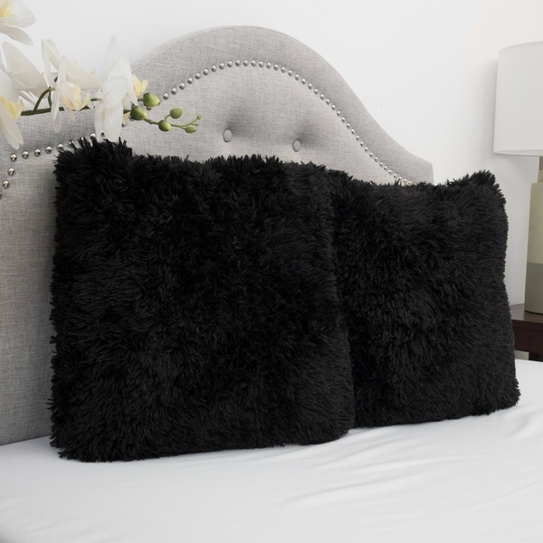 Buy Black Throw Pillows Online at Overstock | Our Best ...