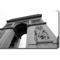 'Arc de Triomphe' Gallery-wrapped Photography Canvas Art