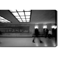 'Subway, Paris' Gallery-wrapped Photography Canvas Art
