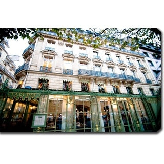 'Laduree, Paris' Gallery-wrapped Photography Canvas Art