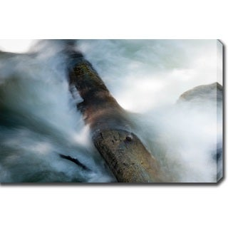 'Stream' Gallery-wrapped Photography Canvas Art