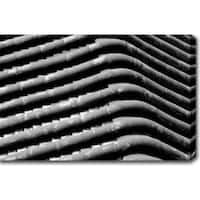 'Pipes' Gallery-wrapped Photography Canvas Art - Multi