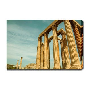 'Temple of Zeus, Athens' Gallery-wrapped Canvas Art