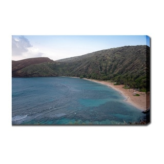 'Hanauma Bay, Oahu, Hawaii' Gallery-wrapped Canvas Art