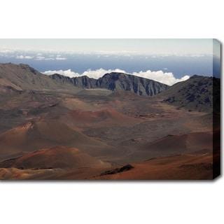 'Haleakala National Park, Maui, Hawaii' Canvas Art