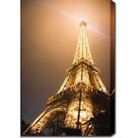 'Eiffel Tower' Gallery-wrapped Photography Canvas Art