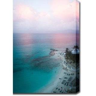 'Sunset in the Ocean' Canvas Art