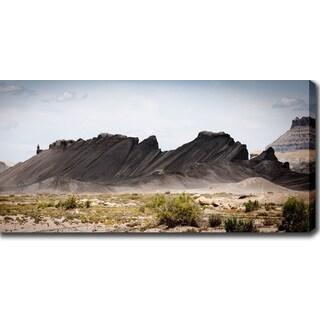 'The Black Mountain' Canvas Art