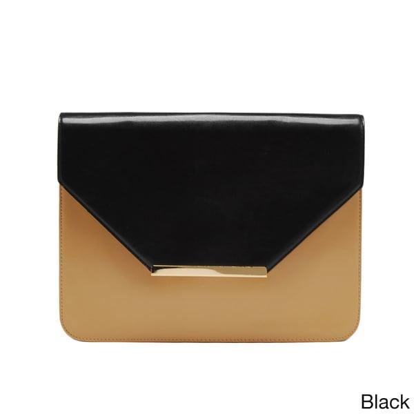 Via 'Ayres' Two-tone Envelope Clutch Bag