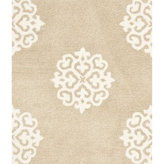 Safavieh Handmade Soho Beige/ Ivory Wool/ Viscose Rug (2'9 x 4'9)