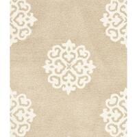 Safavieh Handmade Soho Beige/ Ivory Wool/ Viscose Rug - 2'9 x 4'9
