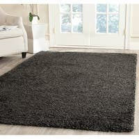 Safavieh Milan Shag Dark Grey Rug (4' x 6')