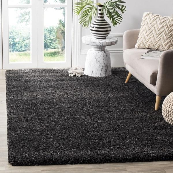 Safavieh Milan Shag Dark Grey Rug - 8'6 x 12'