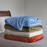 Windsor Home Super Soft Fuzzy Throw Blanket