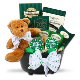 Alder Creek St. Patrick's Day Pot of Gold Gift Basket