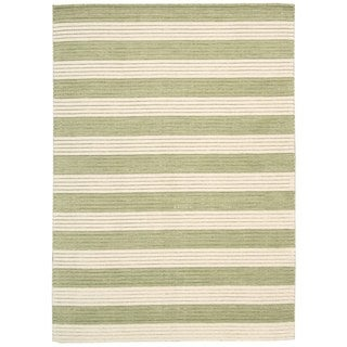Barclay Butera Ripple Sage Area Rug by Nourison (3'6 x 5'6)
