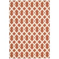 Waverly Sun N' Shade Ellis Sienna Indoor/ Outdoor Rug by Nourison - 7'9 x 10'10