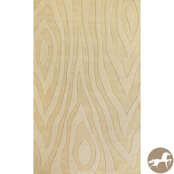 Christopher Wynter Art Rug Ivory: Shop Hand-tufted Christopher Knight Home Grains Ivory Area