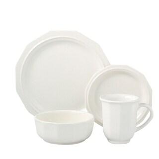Pfaltzgraff Heritage Solid White 16-piece Dinnerware Set