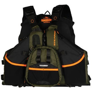Stearns Green Hybrid Fishing Paddle Life Vest