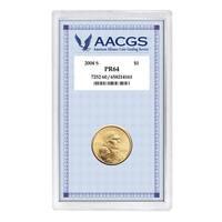 American Coin Treasures 2004 S PR64 Sacagawea Golden Dollar